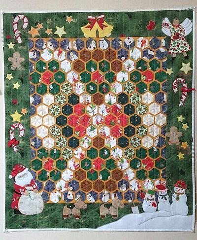 クリスマスキルト2