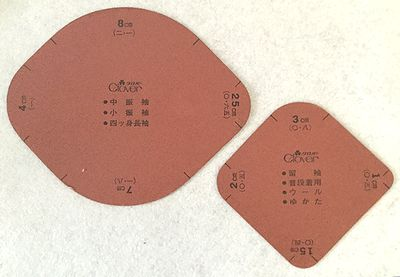 袖丸み形 クロバー(株)