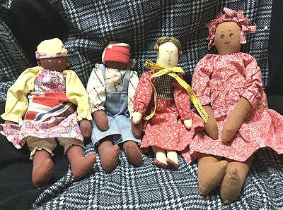 いろいろな人形