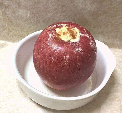 蒸しリンゴ3