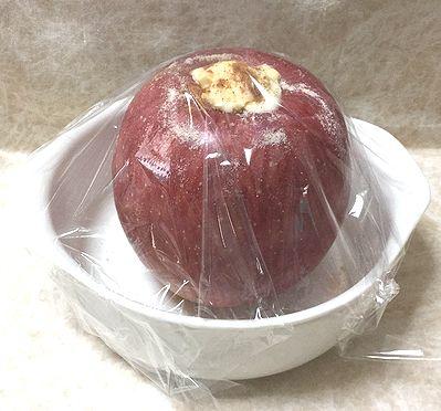蒸しリンゴ4