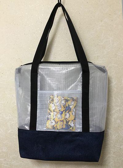 ビニールネットケースのバッグ1