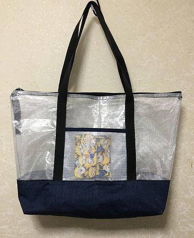 ビニールネットケースのバッグ2