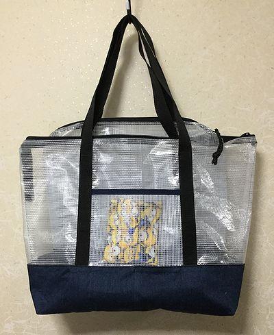 ビニールネットケースのバッグ3