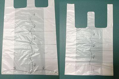 レジ袋の折り方2