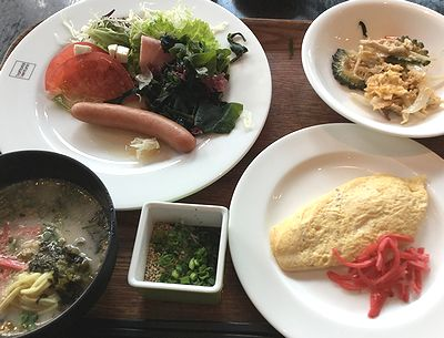 2日目のホテルの朝食