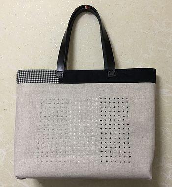 刺し子のバッグ2