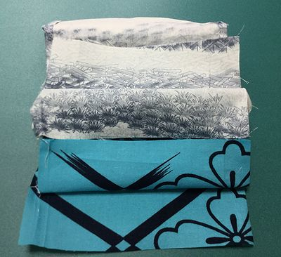 浴衣襟からの巾着6