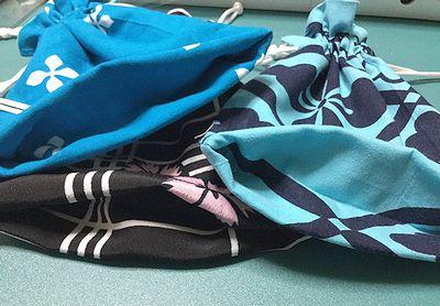 浴衣襟からの巾着13