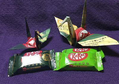 キットカットの折り鶴3