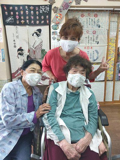 おばあとマスク