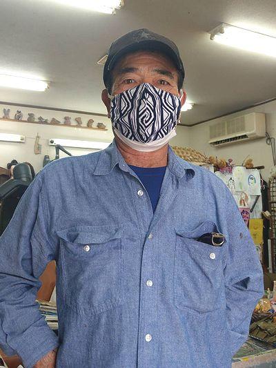 沖縄にマスク5