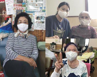 沖縄にマスク9