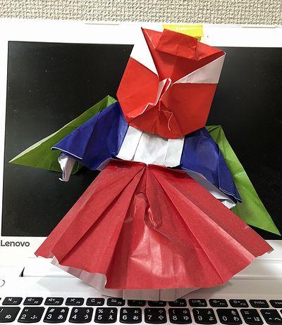 折り紙天狗