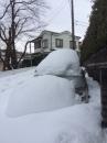 雪に埋もれる車☆