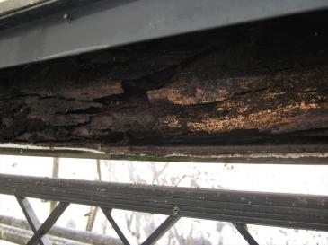 鶴ヶ島市 築17年26坪:腐食している内部