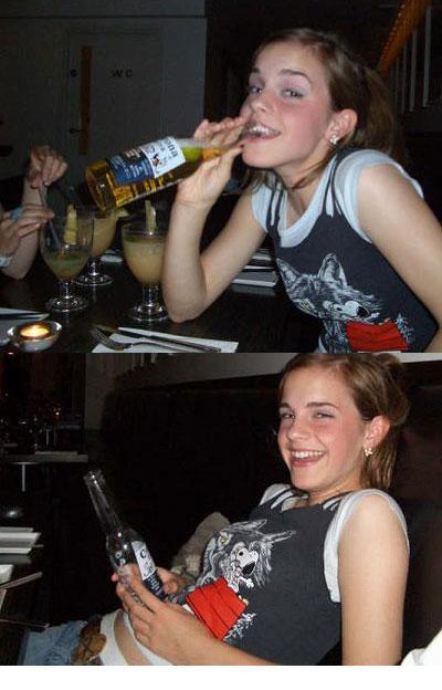 エマ・ワトソンが飲酒疑惑の画像について【コロナビール】