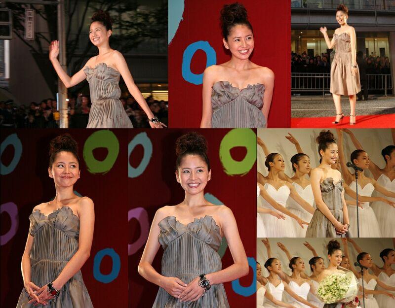 長澤まさみがセクシーなドレスで登場!東京国際映画祭