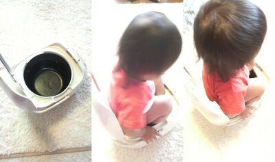 【芸能】辻希美の愛娘、希空(のあ)ちゃん(1) おまる代わりに炊飯器に座り「シィ〜シィ〜」 と、かわいい勘違い