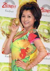 【芸能】「いつも恋してたい」藤原紀香、自身の再婚は「まだいいかな」…『ゼスプリ キウイ』新CM発表会に登場