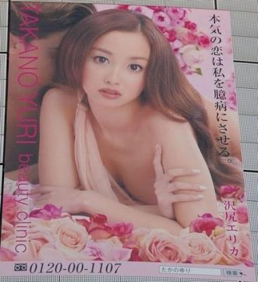 【画像】聖女と悪女、女優・沢尻エリカ(24)の巨大ポスター