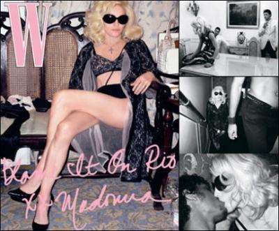 【芸能米国】今度はマドンナのすっぴんとトップレスの写真がネットに流出[111010]