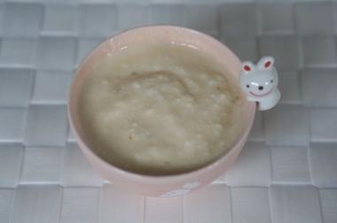 ヨーグルトに高麗紅参茶を混ぜてみた