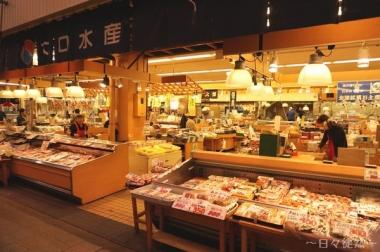 近江市場へ