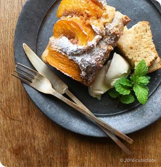 桜桃のパウンドケーキ