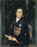 A Japanese lady (Madame J. Takeuchi) 1911 Quinn, James Peter