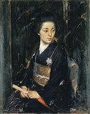 A Japanese lady (Madame J. Takeuchi) 1911 Quinn, James Peter
