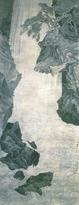 円山応挙「大瀑布図」 (相國寺蔵) 1772年