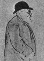 saint saens caricature (似顔絵)