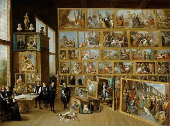 La galleria dellarciduca Leopoldo Guglielmo a Bruxelles -David_Teniers_