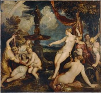 Titian Diana and Callisto