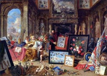Jan van Kessel d.Ä. - Die vier Weltteile, Europa