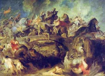 Battle of the Amazons, Rubens