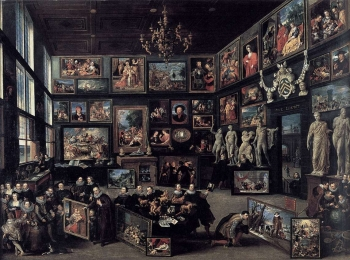 Willem van Haecht, The Gallery of Cornelis van der Geest Visited by the Regents, 1628