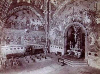 Brogi, Carlo (1850-1925) - n. 16060 - Firenze - Chiesa di S. M. Novella - Cappella degli Spagnoli - XVI secolo