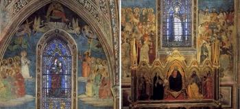 「Last Judgment」 Tommaso Strozzi, an ancestor of Filippo Strozzi, to Nardo di Cione,Orcagna