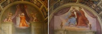 Ridolfo del Ghirlandaio and Veronica, by Pontormo