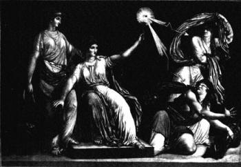 La raison et la liberté qui foudroient la superstition et le fanatisme