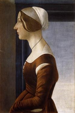 Sandro Botticelli オレッタ・パッツイ(フィオレッタ・ゴリーニ)Clarice Orsini or Fioretta Gorin