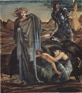4.The Finding of Medusa Study in Southampton Art Gallery
