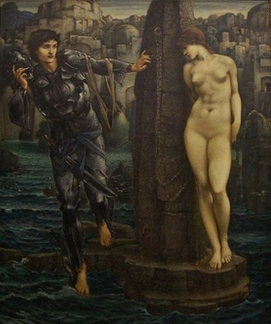7.The Rock of Doom, completed work in oil at Staatsgalerie, Stuttgart
