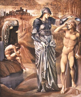 '1.The Call of Perseus, by Edward Burne-Jones full size study in Southampton Art Gallery © Bridgeman Art Library / © Southampton City Art Gallery, Hampshire, UK