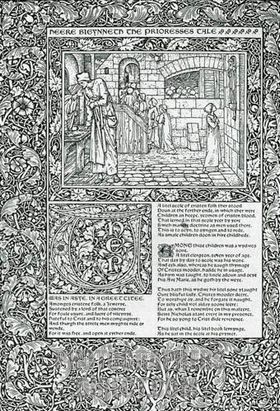 Geoffrey Chaucer The Prioress Tale
