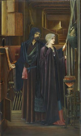 The Wizard (1896-98), Birmingham Museum & Art Gallery
