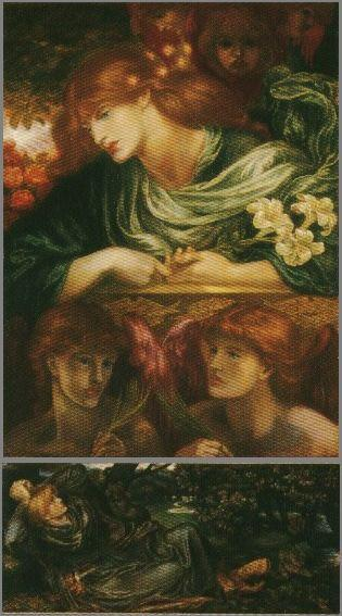 「The Blessed Damozel」by Dante Gabriel Rossetti ( 1875-9) Lady Lever Art Gallery