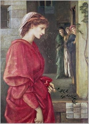 Beatrice, 1870 Edward Burne-Jones��Date��unkown